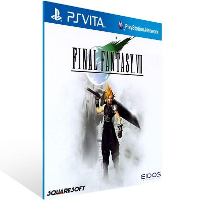 Ps Vita - FINAL FANTASY VII (PSOne Classic) - Digital Código 12 Dígitos US