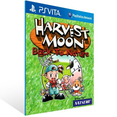 Ps Vita - Harvest Moon: Back To Nature (PSOne Classic) - Digital Código 12 Dígitos US