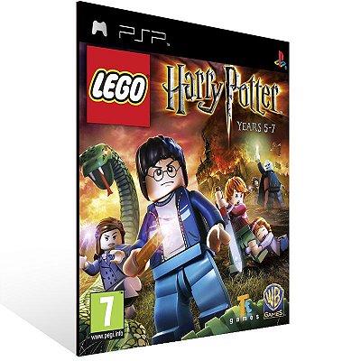 Psp - LEGO Harry Potter: Years 5-7  - Digital Código 12 Dígitos US