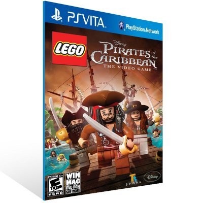 Ps Vita - LEGO Pirates of the Caribbean: The Video Game - Digital Código 12 Dígitos US