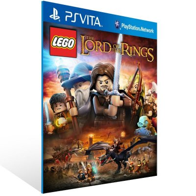 Ps Vita - LEGO The Lord of the Rings - Digital Código 12 Dígitos US