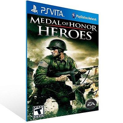 Ps Vita - Medal of Honor Heroes - Digital Código 12 Dígitos US