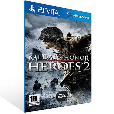 Ps Vita - Medal of Honor Heroes 2 - Digital Código 12 Dígitos US