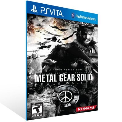 Ps Vita - METAL GEAR SOLID: PEACE WALKER  - Digital Código 12 Dígitos US