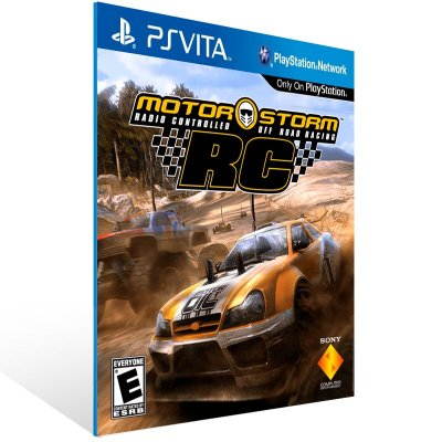 Ps Vita - MotorStorm RC Ps Vita Complete Edition - Digital Código 12 Dígitos US