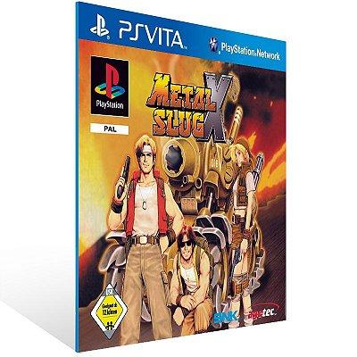 Ps Vita - Metal Slug X (PSOne Classic) - Digital Código 12 Dígitos US