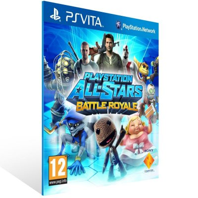 Ps Vita - PlayStation All-Stars Battle Royale  - Digital Código 12 Dígitos US