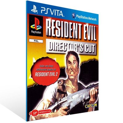 Ps Vita - Resident Evil Director's Cut - Digital Código 12 Dígitos US