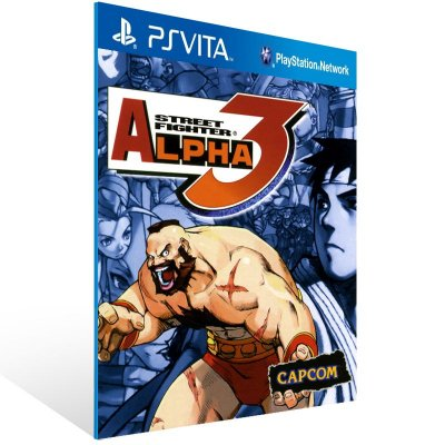 Ps Vita - Street Fighter Alpha 3 (PSOne Classic) - Digital Código 12 Dígitos US