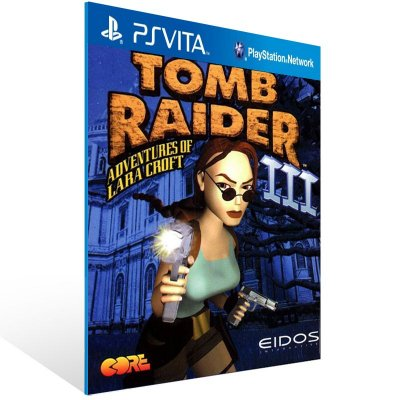 Ps Vita - Tomb Raider III (PSOne Classic) - Digital Código 12 Dígitos US