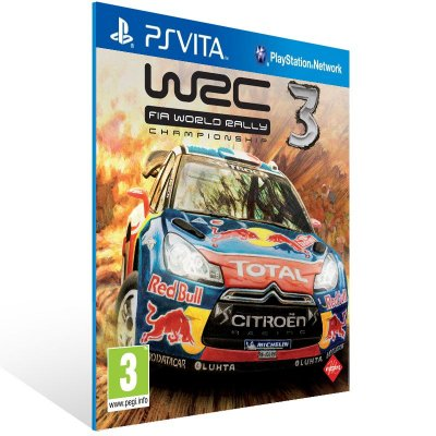 Ps Vita - WRC 3 FIA World Rally Championship - Digital Código 12 Dígitos US