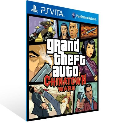 Ps Vita - Grand Theft Auto: Chinatown Wars - Digital Código 12 Dígitos US