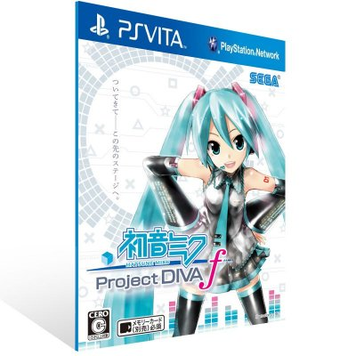 Ps Vita - Hatsune Miku: Project DIVA f - Digital Código 12 Dígitos US