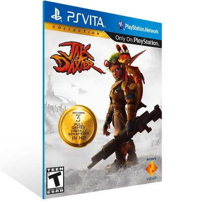 Ps Vita - Jak and Daxter Collection  - Digital Código 12 Dígitos US
