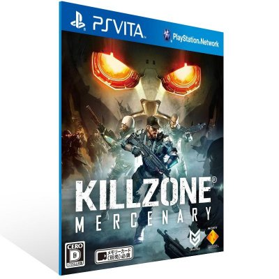 Ps Vita - Killzone: Mercenary  - Digital Código 12 Dígitos US