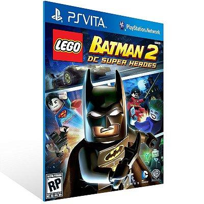 Ps Vita - LEGO Batman 2: DC Super Heroes - Digital Código 12 Dígitos US