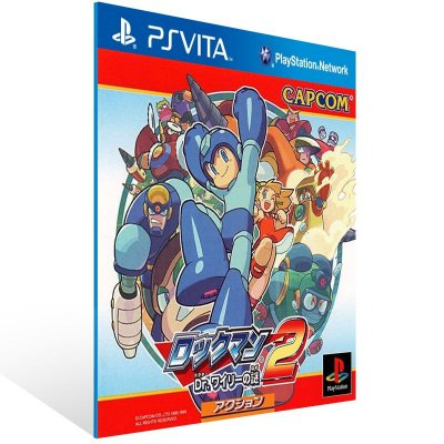 Ps Vita - Mega Man 2 (PSOne Classic) - Digital Código 12 Dígitos US