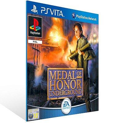 Ps Vita - Medal of Honor Underground (PSOne Classic) - Digital Código 12 Dígitos US
