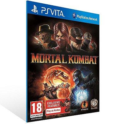 Ps Vita - Mortal Kombat - Digital Código 12 Dígitos US