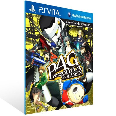 Ps Vita - Persona 4 Golden - Digital Código 12 Dígitos US