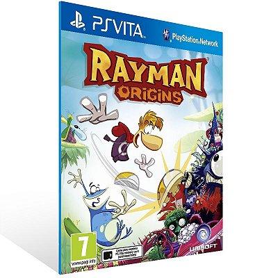 Ps Vita - Rayman Origins - Digital Código 12 Dígitos US