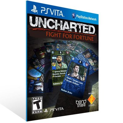 Ps Vita - UNCHARTED: Fight for Fortune  - Digital Código 12 Dígitos US