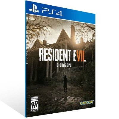 PS4 - RESIDENT EVIL 7 biohazard - Digital Código 12 Dígitos US