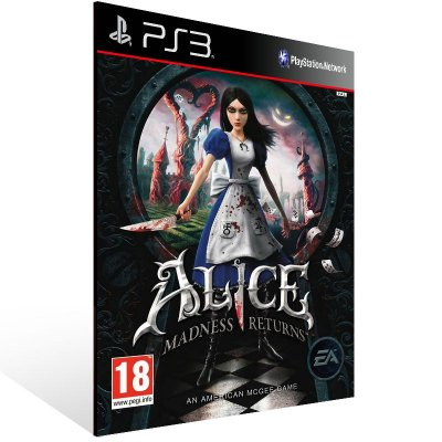 PS3 - Alice: Madness Returns - Digital Código 12 Dígitos Americano