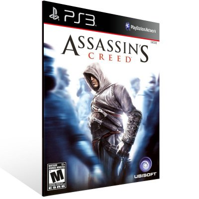 PS3 - Assassin's Creed - Digital Código 12 Dígitos Americano