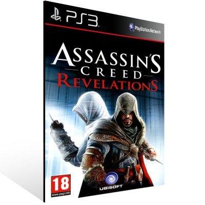 Ps3 - Assassins Creed Revelations - Digital Código 12 Dígitos US