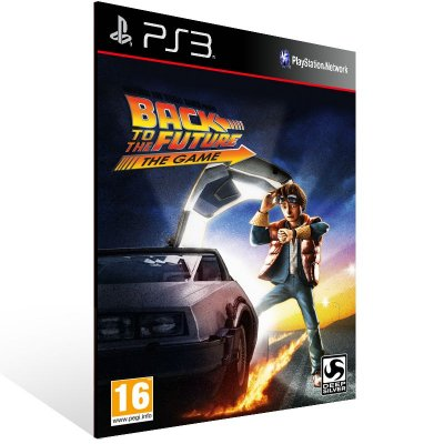 PS3 - Back to the Future: The Game - Full Series - Digital Código 12 Dígitos Americano