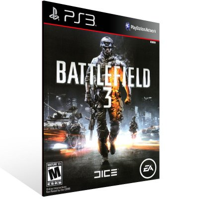 Ps3 - Battlefield 3 - Digital Código 12 Dígitos US