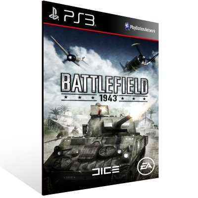 Ps3 - Battlefield 1943 - Digital Código 12 Dígitos US