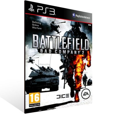 Ps3 - Battlefield Bad Company 2 - Digital Código 12 Dígitos US
