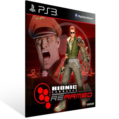 Ps3 - Bionic Commando Rearmed - Digital Código 12 Dígitos US