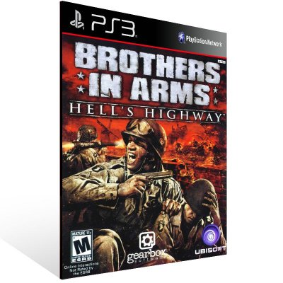 Ps3 - Brothers in Arms Hell Highway - Digital Código 12 Dígitos US