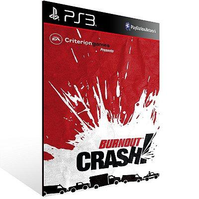 Ps3 - Burnout Crash - Digital Código 12 Dígitos US
