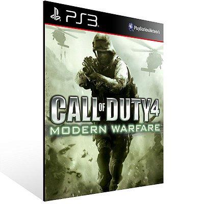 PS3 - Call of Duty 4: Modern Warfare Bundle - Digital Código 12 Dígitos Americano