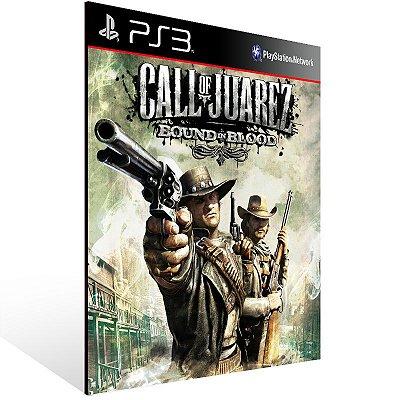 PS3 - Call of Juarez: Bound in Blood - Digital Código 12 Dígitos Americano