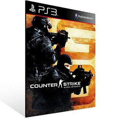 PS3 - Counter-Strike: Global Offensive - Digital Código 12 Dígitos Americano