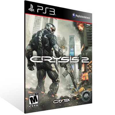 PS3 - Crysis 2 - Digital Código 12 Dígitos Americano