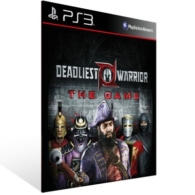 Ps3 - Deadliest Warrior The Game - Digital Código 12 Dígitos US