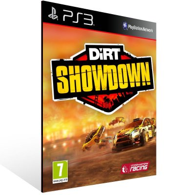 PS3 - DiRT Showdown - Digital Código 12 Dígitos Americano