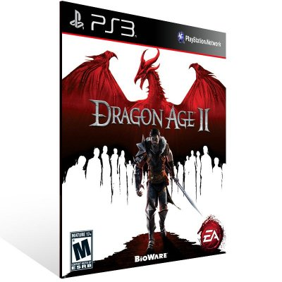 PS3 - Dragon Age II - Digital Código 12 Dígitos Americano