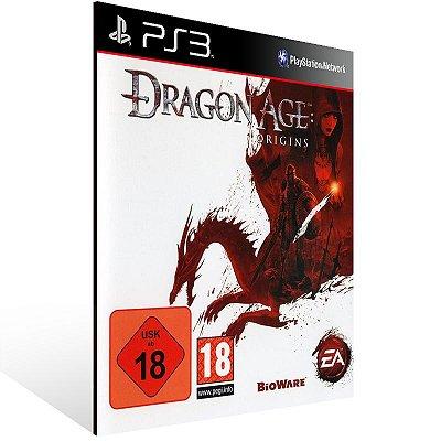 PS3 - Dragon Age: Origins - Digital Código 12 Dígitos Americano