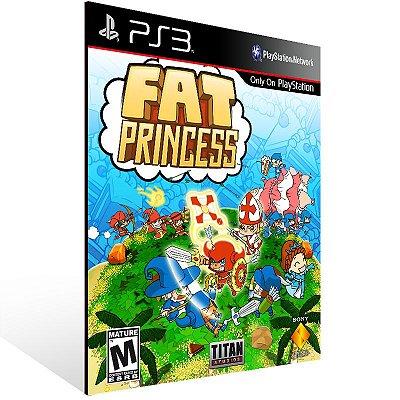Ps3 - Fat Princess - Digital Código 12 Dígitos US