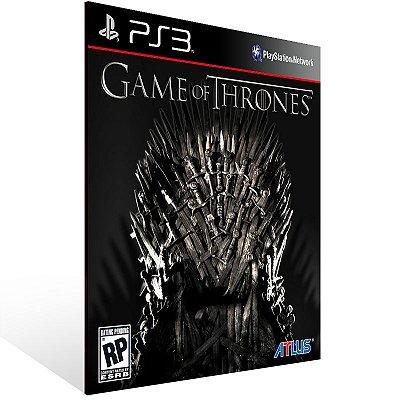 PS3 - Game of Thrones - Digital Código 12 Dígitos Americano