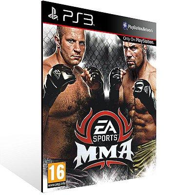 Ps3 - Ea Sports MMA - Digital Código 12 Dígitos US