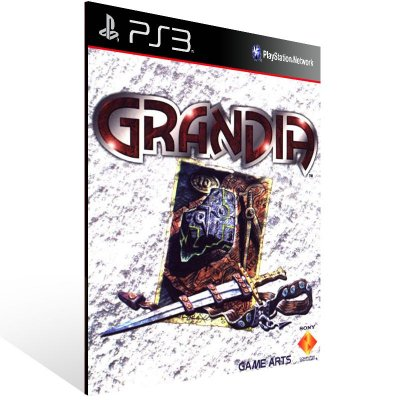 Ps3 - Grandia (PSOne Classic) - Digital Código 12 Dígitos US