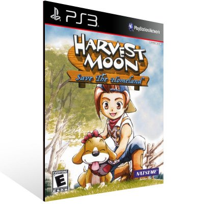 Ps3 - Harvest Moon Save the Homeland (PS2 Classic) - Digital Código 12 Dígitos US